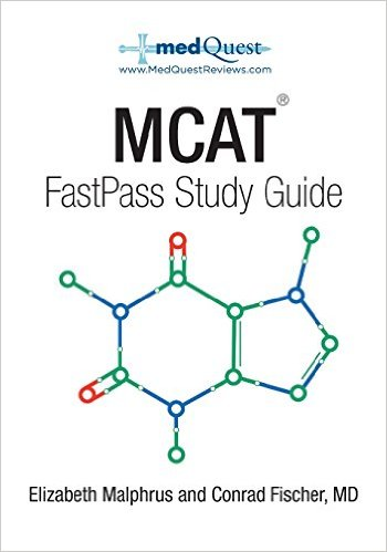 MCAT FastPass Study Guide cover