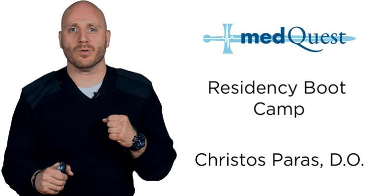 Christos Paras D.O. Hospital Bootcamp