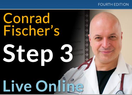 Conrad Fischer's Step 3 Live Online