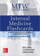 Master the Wards: Internal Medicine Flashcards 1st Edition