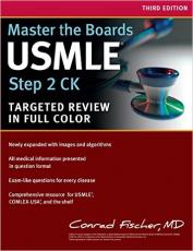 Master the Boards USMLE Step 2 CK Third Edition